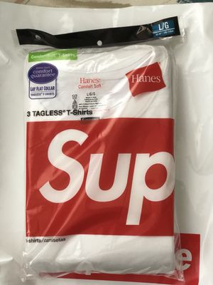 Supreme Hanes t-shirt large for Sale in Silver Spring, MD