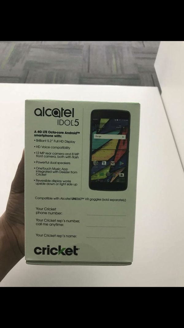 Alcatel Idol 5 for Cricket for Sale in Fresno, CA - OfferUp
