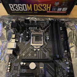 Gigabyte B360M DS3H Motherboard Thumbnail
