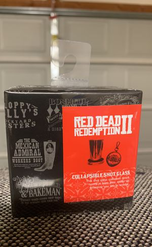 Collectible RedDead Redemption 2 collapsible shot glass for Sale in Roseville, CA
