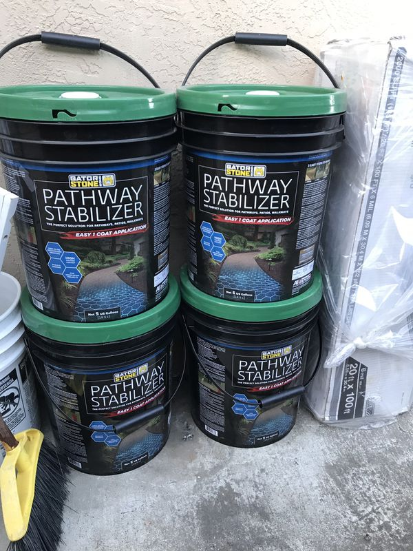 Pathway Stabilizer For Sale In Beaumont Ca Offerup
