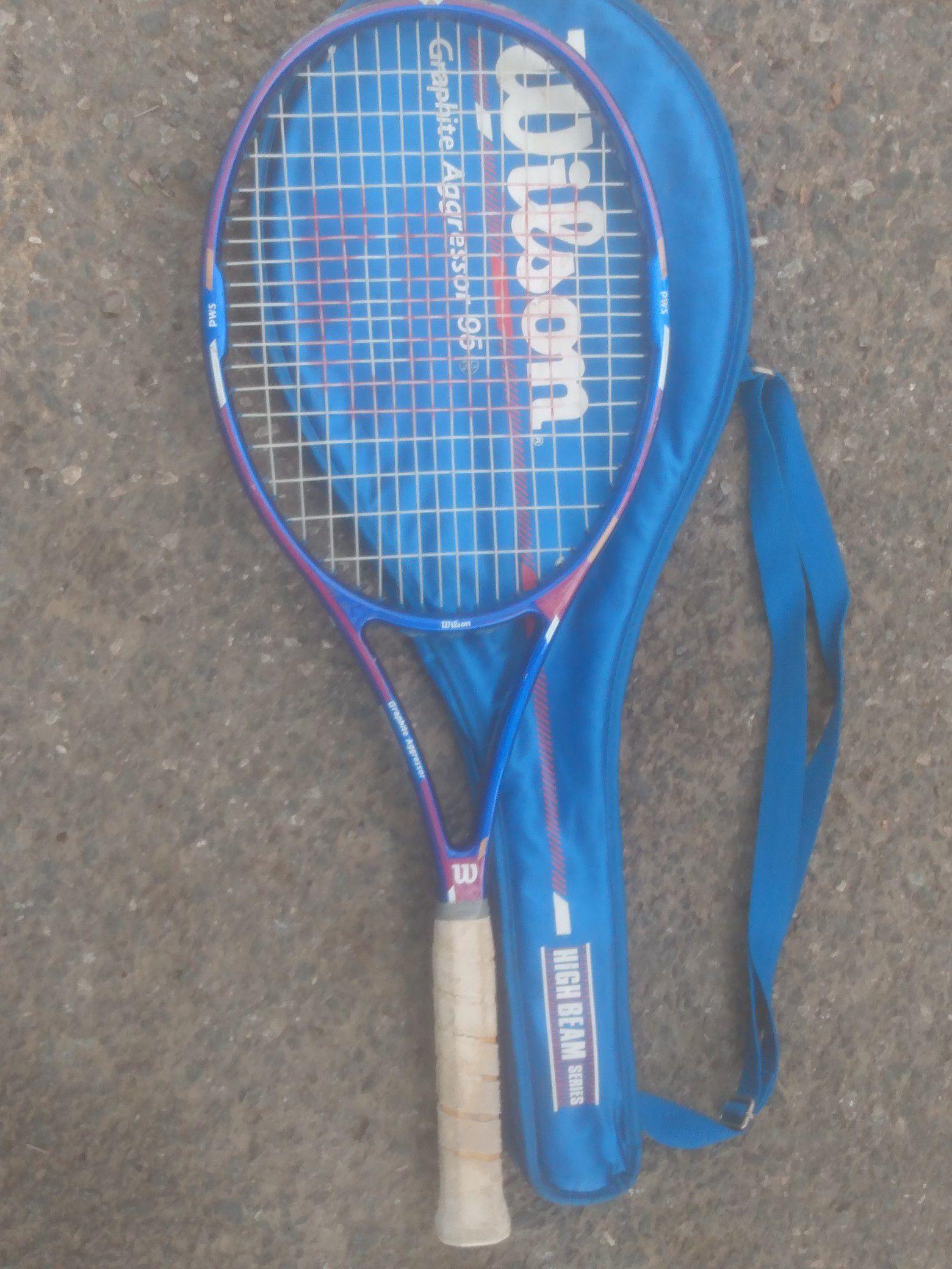 2 Wilson tennis raquets