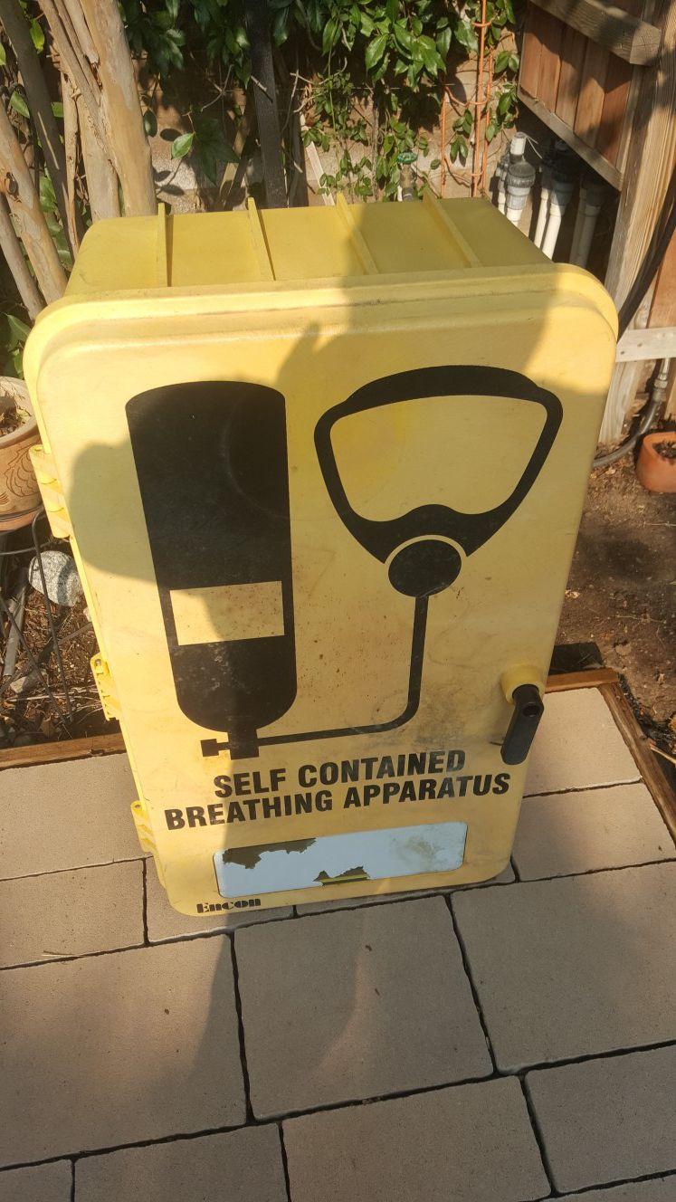 Storage bin - Yellow