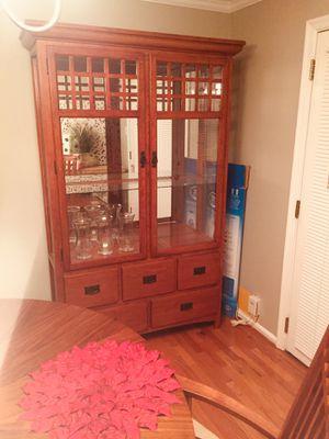 BEAUTIFUL CHINA CABINET for Sale in Fairfax, VA