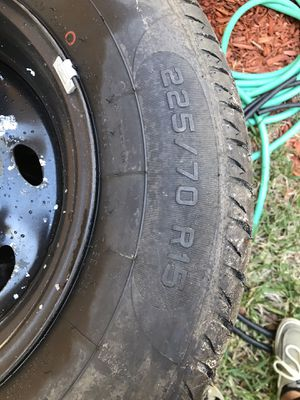 Photo New tires! Only 100 miles on them. Fits ford ranger