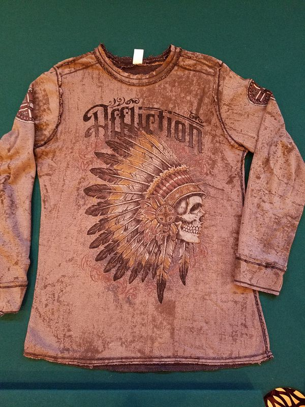 474cde2d396 Affliction Thermal Shirt XL for Sale in Bonney Lake