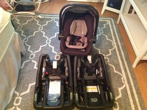 Baby Jogger City GO Infant Car Seat plus two Car Seat Bases for Sale in Gaithersburg, MD