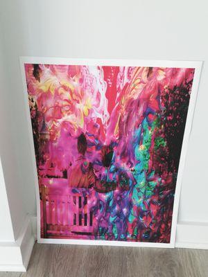 The Couple Color Splash Art Print (18*24) for Sale in Washington, DC