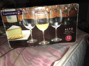 New Wine glasses 12Ct. for Sale in Paeonian Springs, VA