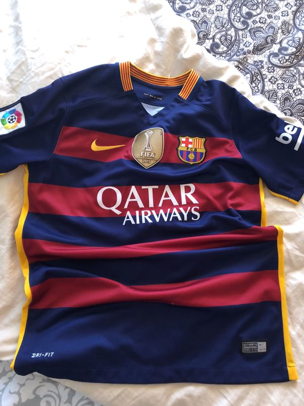 8c09fbc7414 Barcelona toddler authentic jersey for Sale in Perris, CA - OfferUp