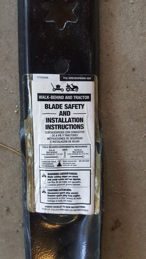 Lawn mower blade for Sale in Bristow, VA