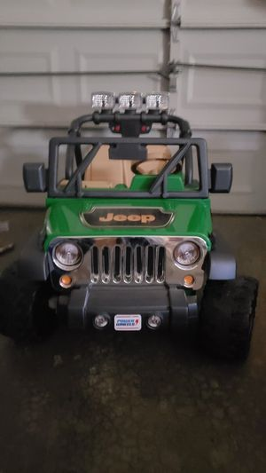 Power wheels Jeep Wrangler for Sale in Frederick, MD