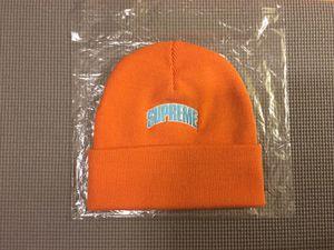 cdecbbde2be Supreme crown logo beanie orange for Sale in MONTE VISTA
