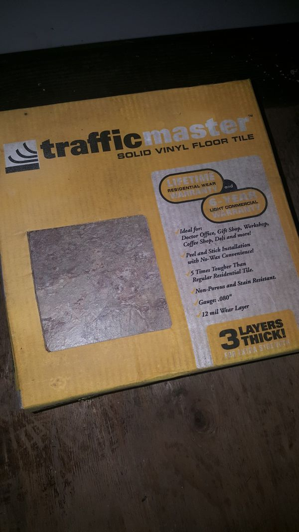 Trafficmaster Solid Vinyl Floor Tile For Sale In Everett Wa Offerup