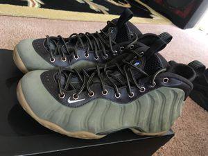 free shipping f4adc 316ec Olive green foamposite for Sale in Oakland, CA - OfferUp