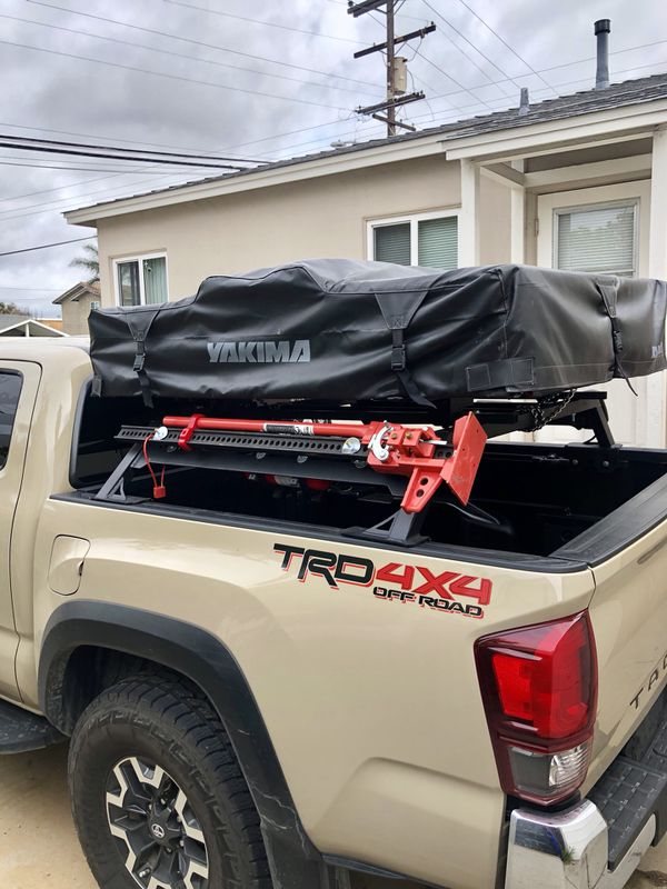 Tacoma Roof Top Tent And Bed Rack For Sale In San Diego