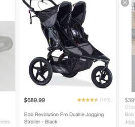 Bob Revolution Duallie Double Stroller Thumbnail