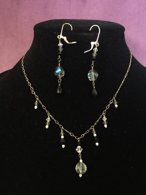 Swarovski crystal necklace and earrings for Sale in Salt Lake City, UT