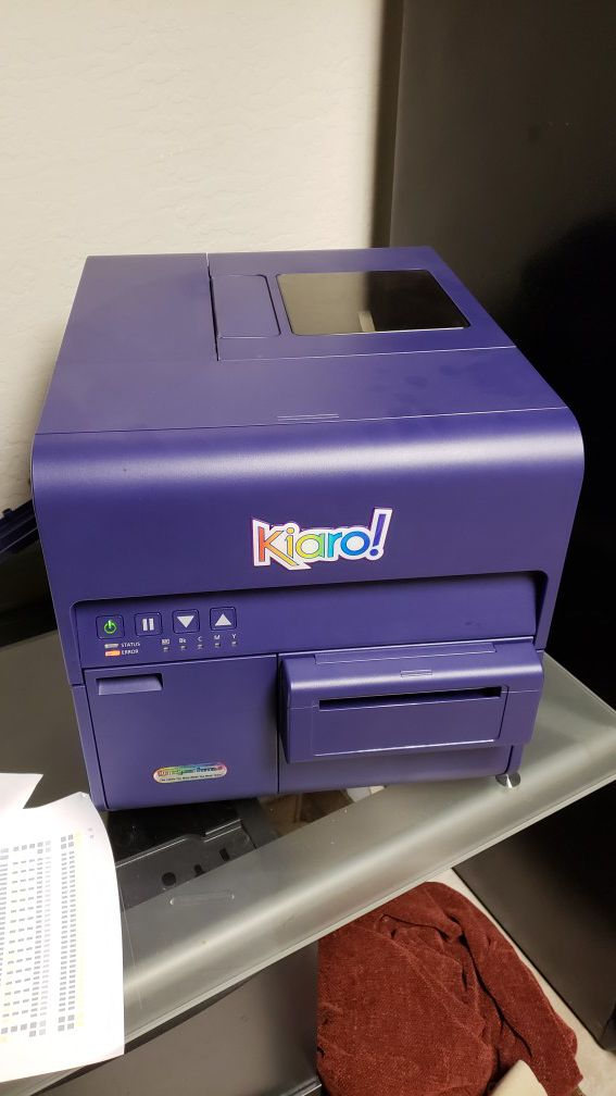 Kiaro Label Printer For Sale - Trovoadasonhos