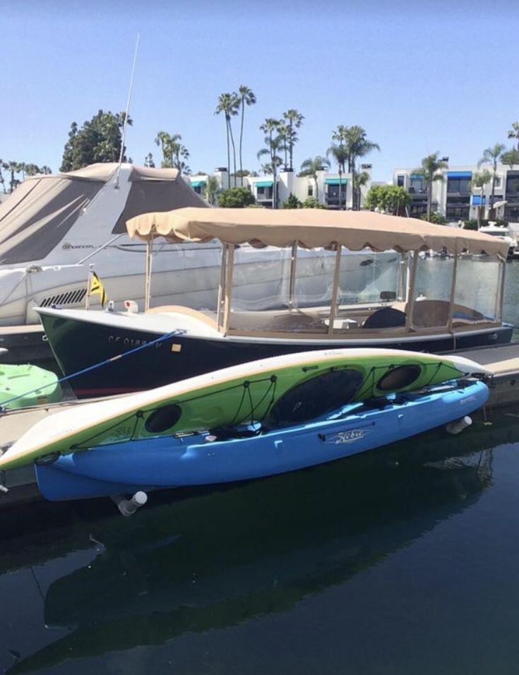 Green Mystic kayak