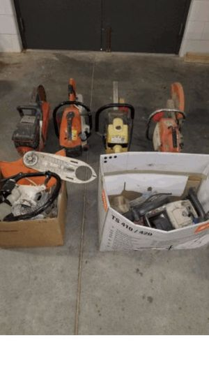 Concrete Saws, not working, Stihl, Wacker for Sale in Fort Worth, TX