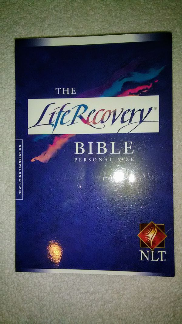 NEW! Life Recovery Bible NLT - New Living Translation