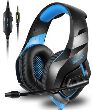 Stereo Gaming Headset for PS4 Xbox One, Noise Cancelling Mic Over Ears Gaming Headphones with Microphone for Nintendo Switch Playstation 4 Laptop Sma for Sale in Union City, CA