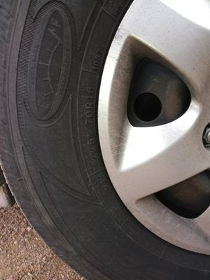 I'm looking for a rim with its rim size 225 / 70R16 of 6 birlos.seminueva. for Sale in Colorado Springs, CO