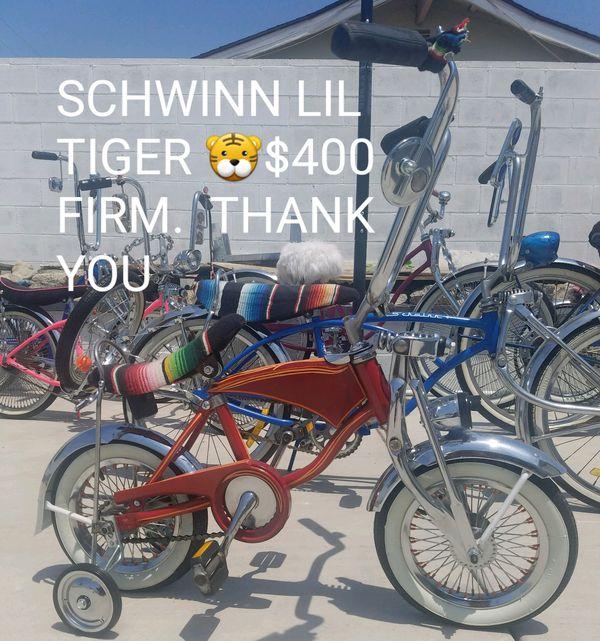 e91e48c6bae Lil Tiger (Orange Bike only) for Sale in San Bernardino, CA - OfferUp