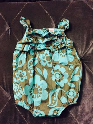 Carter's Baby Girl Blue & Grey Outfit for Sale in San Diego, CA