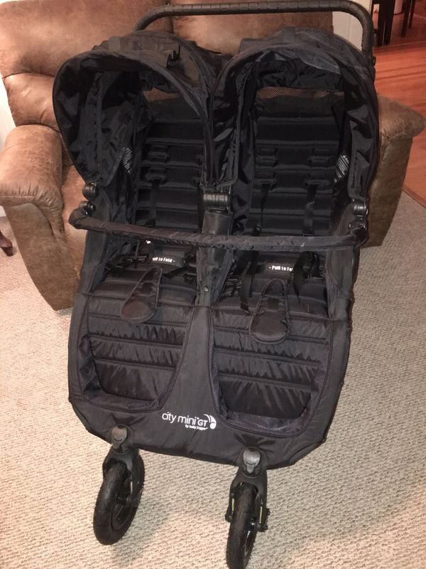 Baby Jogger City Mini Gt Double Stroller Bonus Belly Bar For Sale In Cave Spring Va Offerup