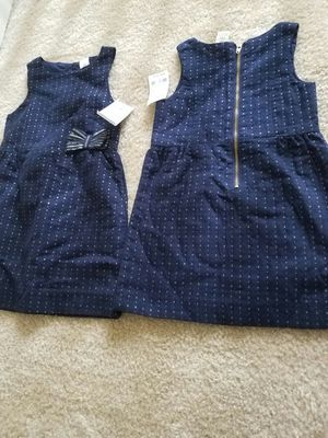 New with tags Oshkosh navy with gold flecks dress size 2T or 3T - $15 each not negotiable for Sale in Rockville, MD