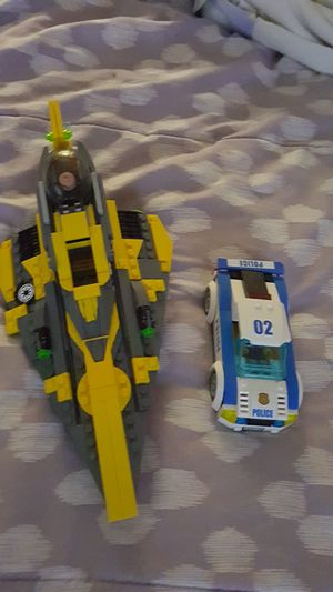 Photo Lego Police Car and Jet