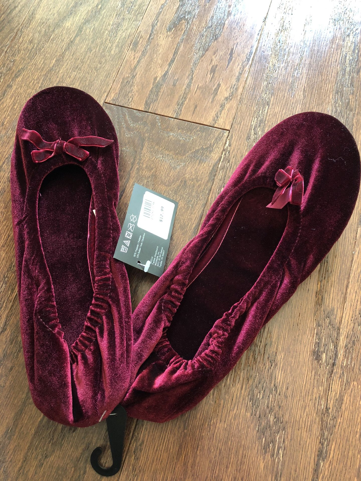 New $6 house slippers