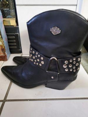 Photo Women's Harley Davidson Boots 9.5
