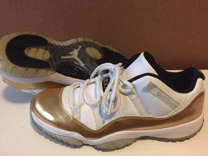 ad9cac4ad0e Nike Air Jordan Retro 11 Low Closing Ceremony White/Gold 528895-103 Mens sz