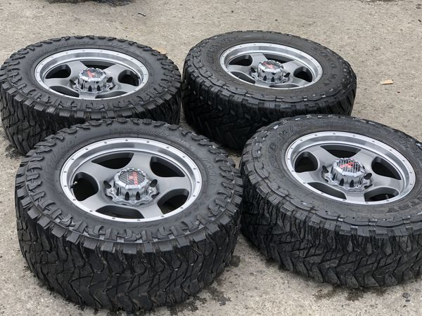 Used Mud Tires For Sale >> 18 New 8x180 Rims With Used Mud Tires For Sale Gmc Chevy For Sale