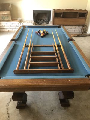 One Piece Slate Pool Table For Sale In Odessa TX OfferUp - Inside a pool table