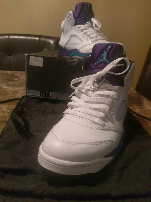 0798456406c4 Nike Air Jordan Grape 5s for Sale in Cleveland