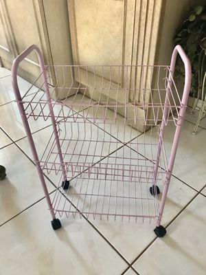 Photo Storage cart for shoes or toys etc 24 in w x 29 in h