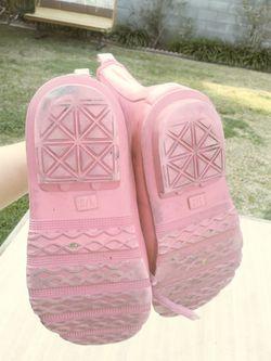 Girls Gap bubblegum pink rainboots Thumbnail