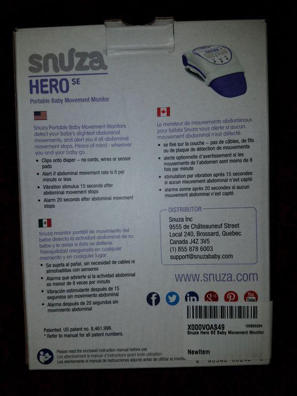 Snuza Hero Baby Monitor For Sale In Turlock Ca Offerup