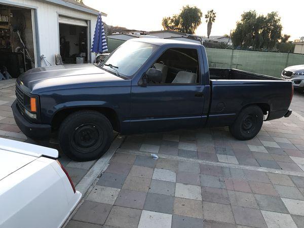92 chevy pickup v6