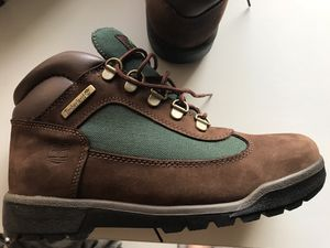 Timberland junior size 6M worn once!! for Sale in Alexandria, VA
