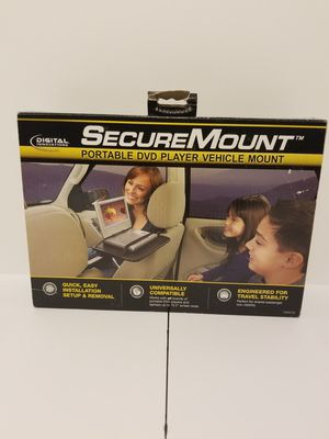 """DIGITAL INNOVATIONS SECURE MOUNT PORTABLE DVD PLAYER VEHICLE MOUNT P/N:70200EF This is a new """"Digital Innovations Secure Mount Portable DVD Play for Sale in Woodbridge, VA"""