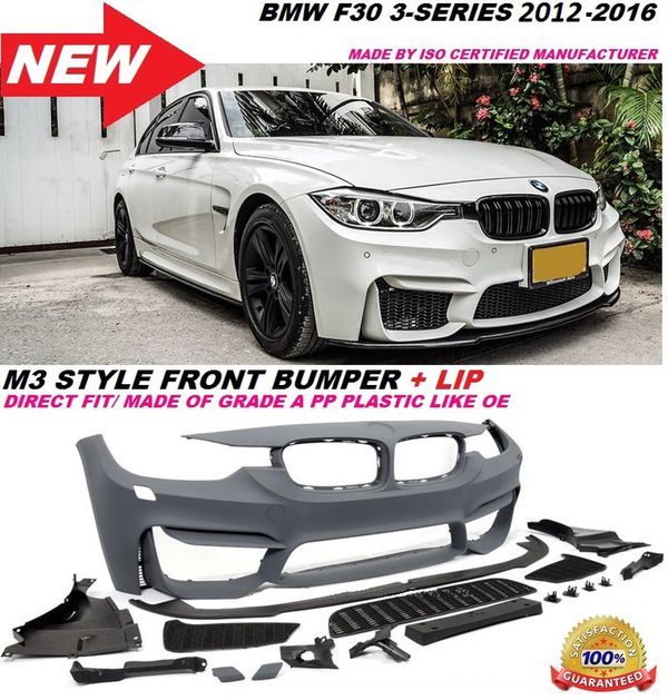 Bmw F30 M3 M Sport Style Front Bumper For Regular 3 Series For Sale