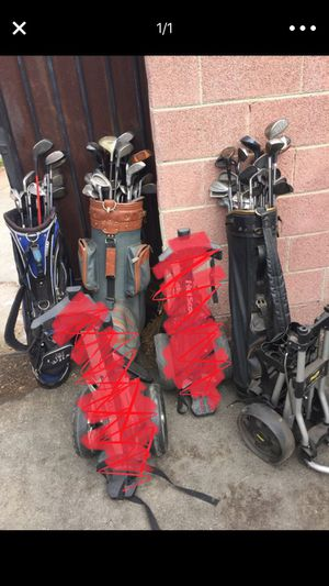 Golf clubs and bags for Sale in Inglewood, CA