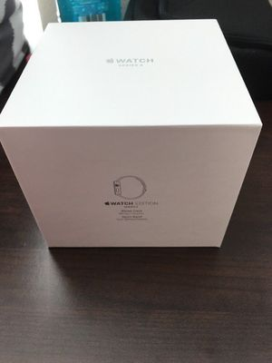 Apple Watch Series 3 Edition (White Ceramic) 42mm GPS + Cellular with Apple Care+ (MQKD2LL/A) for Sale in Nashville, TN