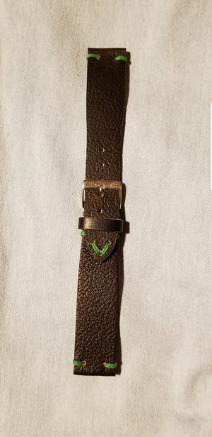 Brand new genuine leather watch band. for Sale in Hesperia, CA