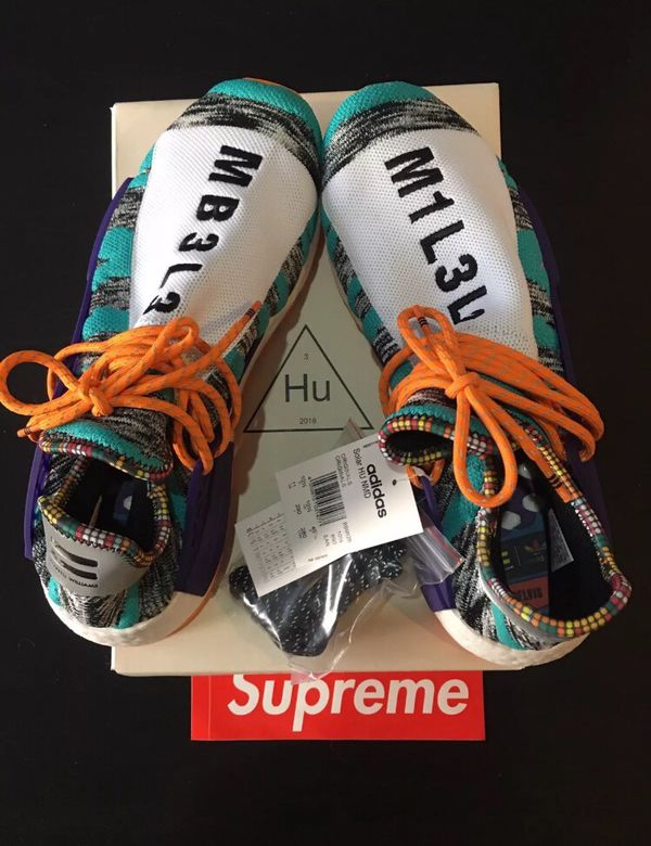 get cheap 490c1 b44c5 Adidas Pharrell Williams Human Race Size 12 DS Solar Pack for Sale in San  Jose, CA - OfferUp